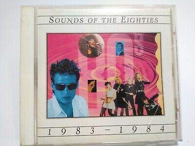 Sounds Of The Eighties 1983 - 1984 CD Album Culture Club Go Go's New Wave Pop - Post Punk Records