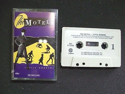 The Motels Little Robbers Cassette Tape New Wave Suddenly Last Summer 1983 - Post Punk Records