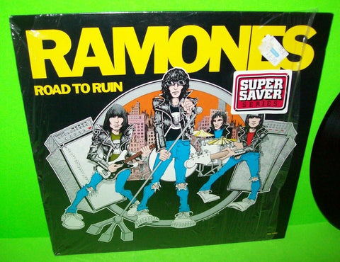 Ramones ‎Road To Ruin Vinyl LP Record Album Punk Rock I Wanna Be Sedated Shrink