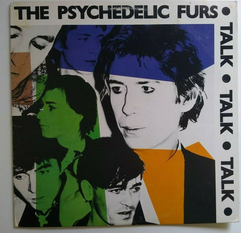 The Psychedelic Furs Talk Talk Talk Vinyl LP Record PostPunk 1981 Pretty In Pink
