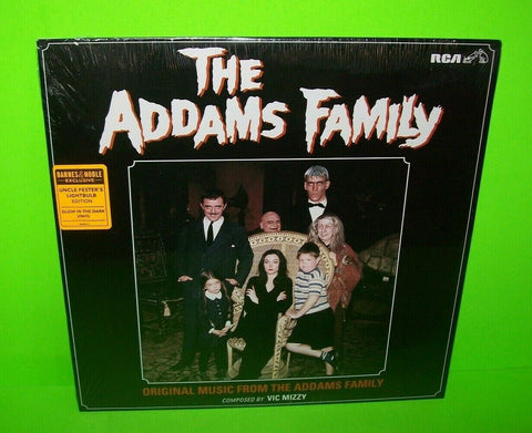 The Addams Family Original Music From TV Show GLOW Ltd Vinyl LP Record Halloween