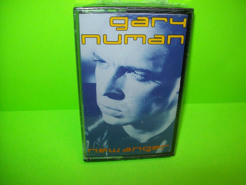 Gary Numan New Anger SEALED 1989 Cassette Tape New Wave Electronic Synth-Pop - Post Punk Records