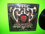 "The Cult Love Removal Machine Vinyl 12"" EP Record Hard Rock Goth Promo 1987 - Post Punk Records"