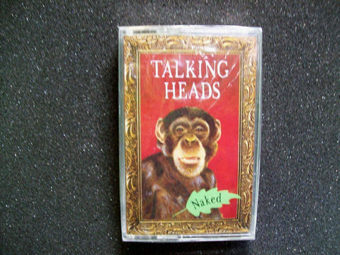 Talking Heads ‎Naked Original SEALED 1988 Cassette Tape New Wave Pop Rock Sire - Post Punk Records