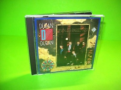 Duran Duran ‎– Seven And The Ragged Tiger CD Album New Wave Synth-Pop Pop Rock - Post Punk Records