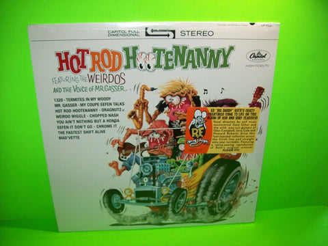 Mr Gasser & The Weirdos ‎Hot Rod Hootenanny Vinyl LP Record Surf Roth Rat Fink - Post Punk Records