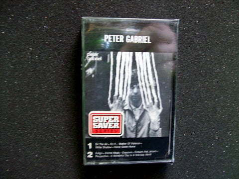 Peter Gabriel ‎– Peter Gabriel SEALED 1978 Cassette Tape New Wave Art Rock D.I.Y - Post Punk Records