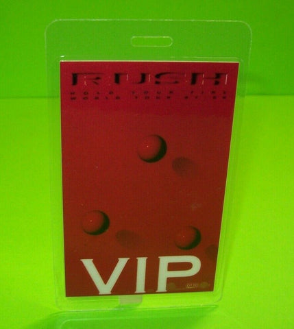 Rush Hold Your Fire Backstage Pass Original Otto 1987 Concert Tour Hard Rock VIP