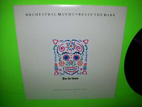 "Orchestral Manoeuvres In The Dark So In Love Vinyl 12"" Record Promo OMD NM Synth - Post Punk Records"