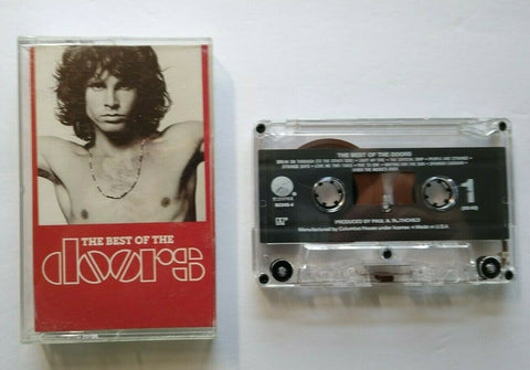 The Best Of The Doors Cassette Tape Columbia House Music Club Version 1985