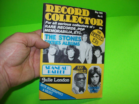 Record Collector Magazine May 1983 The Rolling Stones The Beatles Spandau Ballet - Post Punk Records