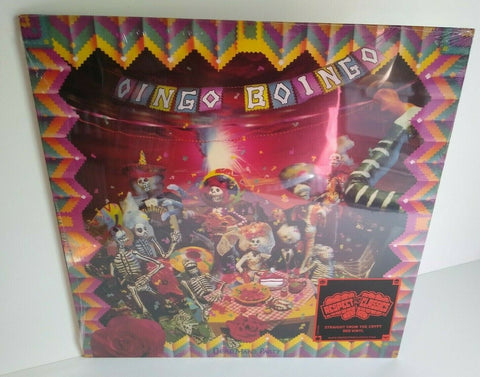 Oingo Boingo Dead Mans Party Vinyl LP Record Danny Elfman Weird Science Colored