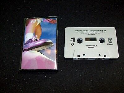 The Outfield Bangin 1987 Cassette Tape Pop Rock Vintage Music - Post Punk Records