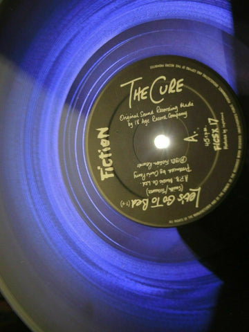 The Cure Lets Go To Bed PURPLE Vinyl Record Rare Goth Post-Punk New Wave VG+ - Post Punk Records