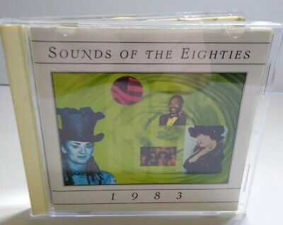Sounds Of The Eighties 1983 CD Album David Bowie Culture Club The Fixx Madness - Post Punk Records