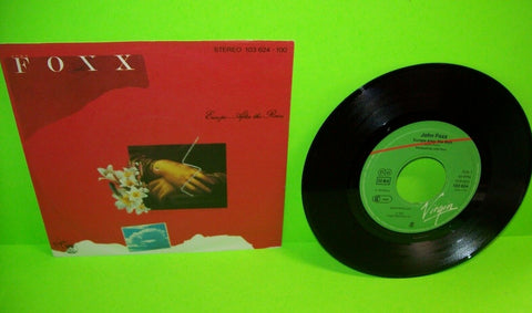 "John Foxx ‎Europe After The Rain Vinyl 7"" Record New Wave Synth-Pop Electronic"