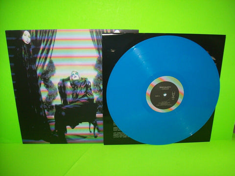 Drab Majesty Careless Blue Vinyl LP Record Post-Punk Synth-Pop Goth 400 Made - Post Punk Records