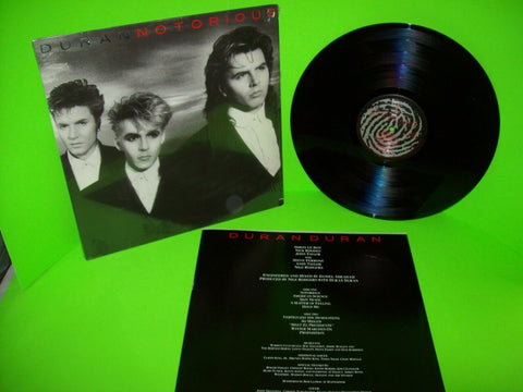 Duran Duran Notorious Vinyl LP Record Album New Wave Synth-Pop Pop Rock 1986 - Post Punk Records