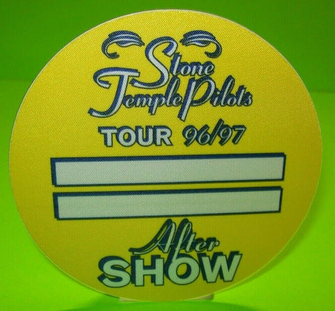 Stone Temple Pilots Otto Back Stage Pass Original 1996 Hard Rock Music Gift
