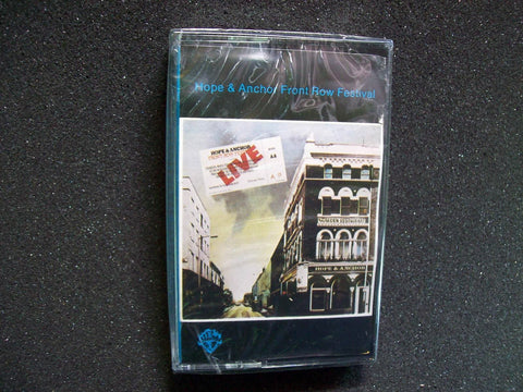 Hope & Anchor SEALED 1978 Cassette Tape Punk Rock XTC 999 Stranglers X-ray Spex - Post Punk Records