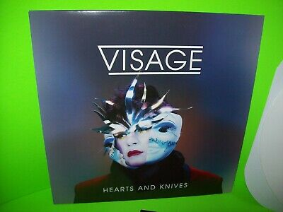 Visage Hearts And Knives Vinyl LP Record Album Synth-Pop New Wave White Colored - Post Punk Records