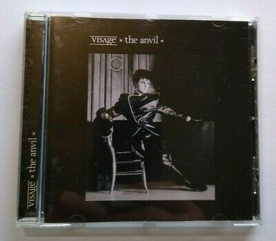Visage The Anvil CD Album Synth-Pop New Wave Electronic Steve Strange Cherry Pop