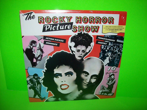 The Rocky Horror Picture Show Original 1975 Vinyl LP Record Horror Rock Glam NOS