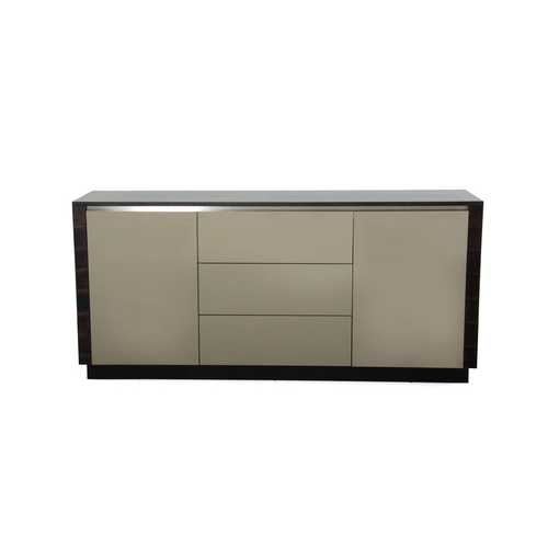 Modern Oak & Grey Gloss Buffet