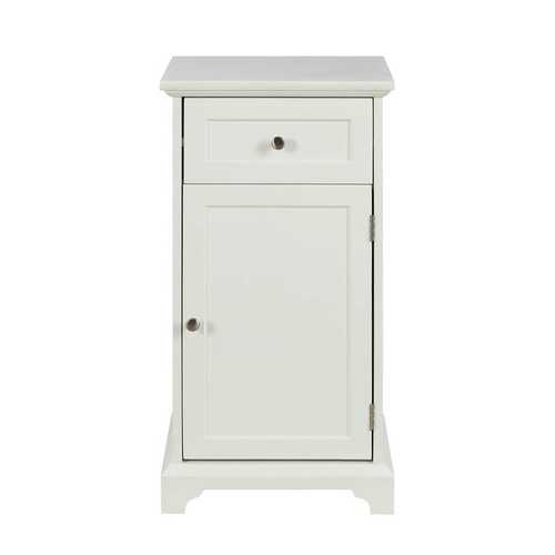 Cabinet in White - MDF, marble(degree:B)