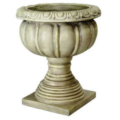 "14"" X 17"" X 14"" Gold, Copper, Brown Resin Resin Sicilian Urn"
