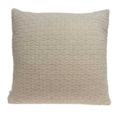 "20"" x 0.5"" x 20"" Charming Transitional Tan Pillow Cover"