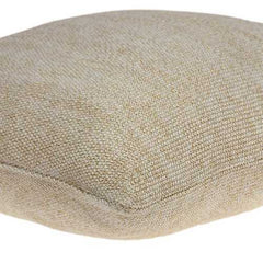 "20"" x 7"" x 20"" Elegant Transitional Tan Pillow Cover With Down Insert"
