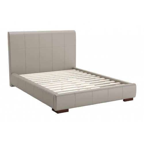 "62.2"" x 83.9"" x 43.5"" Gray, Leatherette, Plywood, MDF, Full Bed"