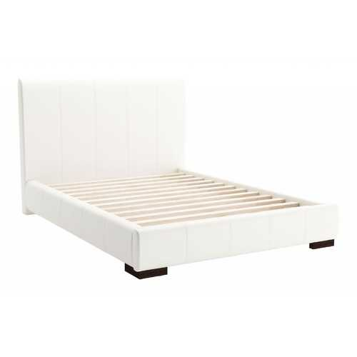 "62.2"" x 83.9"" x 43.5"" White, Leatherette, Plywood, MDF, Full Bed"