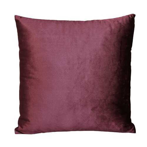 "18"" X 5.5"" X 18"" Purple Polyester Square Pillow"