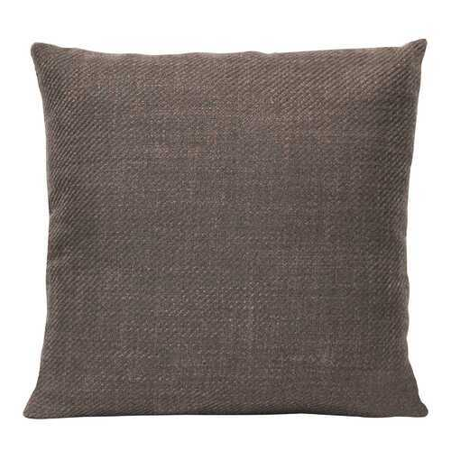 "18"" X 5.5"" X 18"" Mocha Polyester Square Pillow"