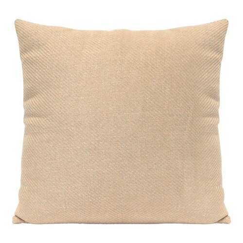 "18"" X 5.5"" X 18"" Sand Polyester Square Pillow"