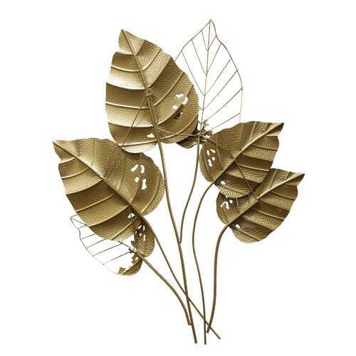 "28"" X 1.97"" X 35.43"" Gold Metal Wall Decor"