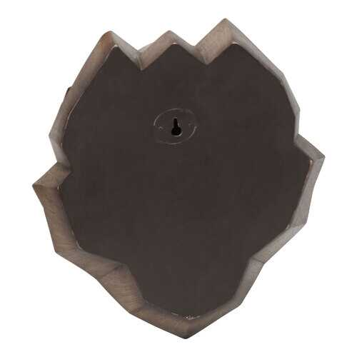 "10.75"" X 7"" X 11"" Brown Polyresin Wall Decor"