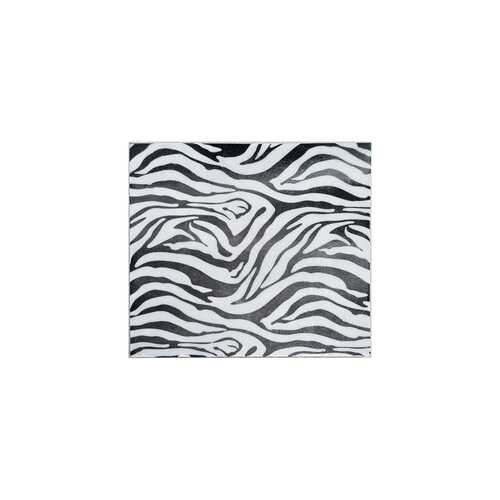 Small Iron Faux Zebra Skin Wall Tile