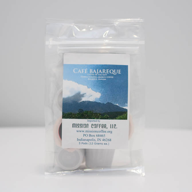 Cafe Bajareque Coffee Pods