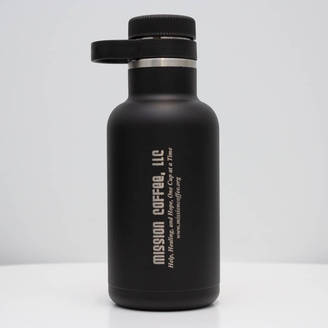 64oz Black Hydro Flask Growler