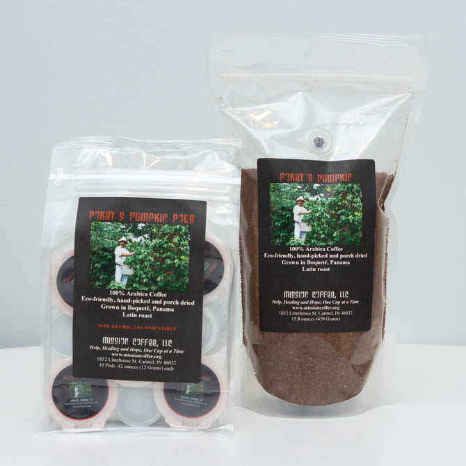 Pokey's Premium Estate Coffee Pumpkin Products