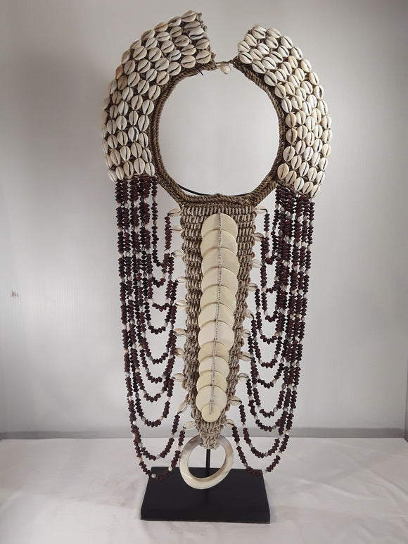 Shell Jewelry, 30 inch tall with stand - Sejati