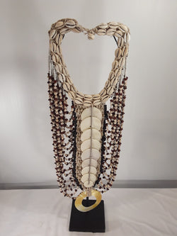 Shell jewelry, 25 inch tall with stand - Sejati