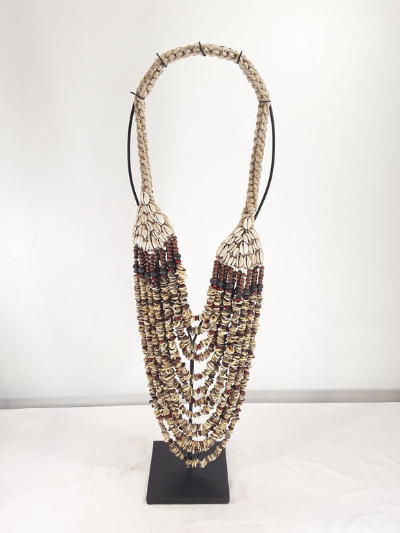 Shell Jewelry, 24 inch tall with stand - Sejati