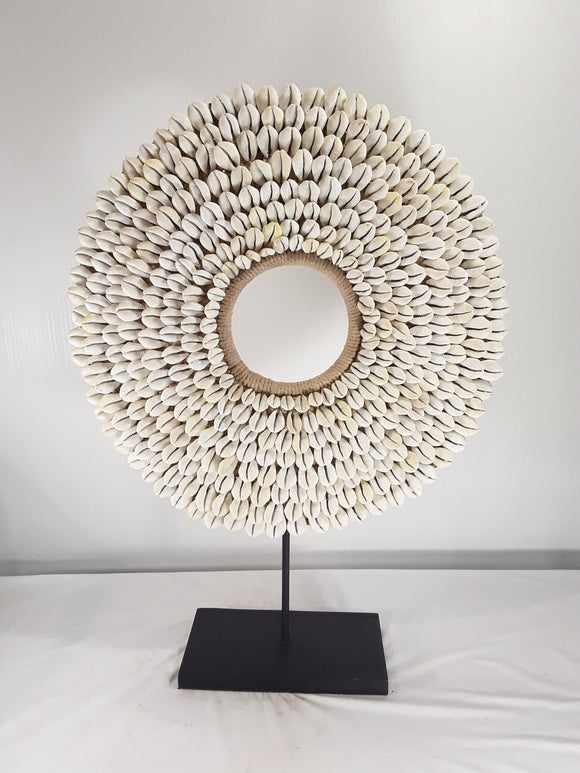 Shell Jewelry with Stand (15 inches in diameter) - Sejati