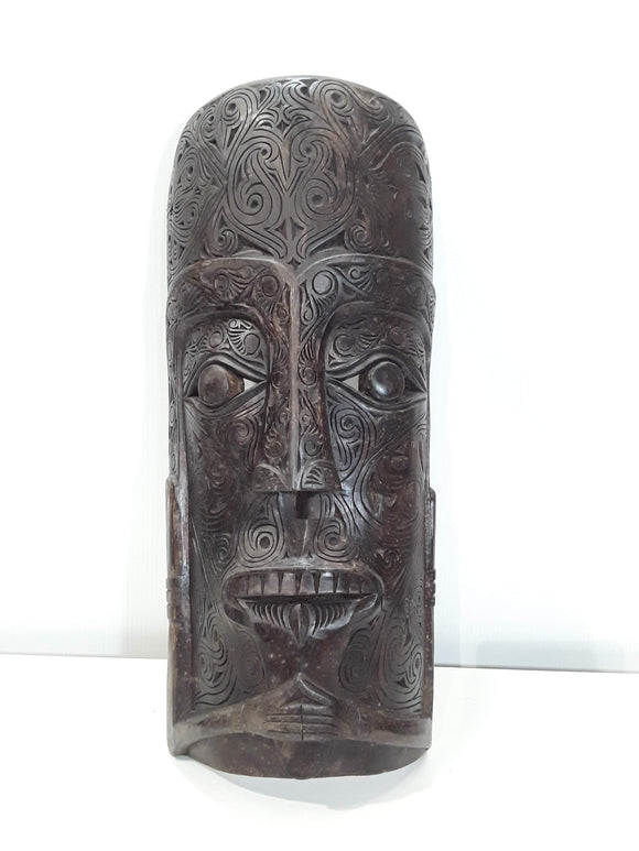 BATAK MASK FOR HOME PROTECTION AND WORLD PEACE 22 INCH TALL