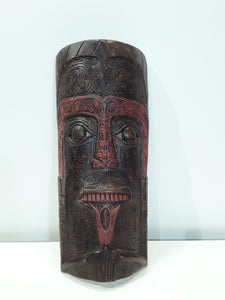 BATAK MASK FOR PROTECTION OF  HEARTH AND HOME.