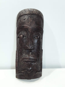 BATAK CARVED WOOD MASK FOR HOME PROTECTION 21.5 TALL